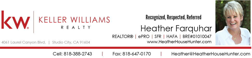 Heather Farquhar, Realtor Oak Pointe Sherman Oaks Realtor